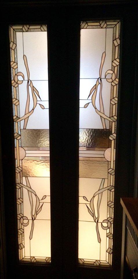salon vitray kapı