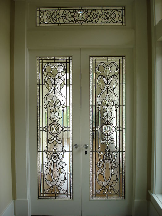 vitray bizote kapı,