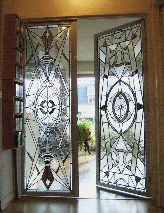 Vitray İç Mekan Kapı